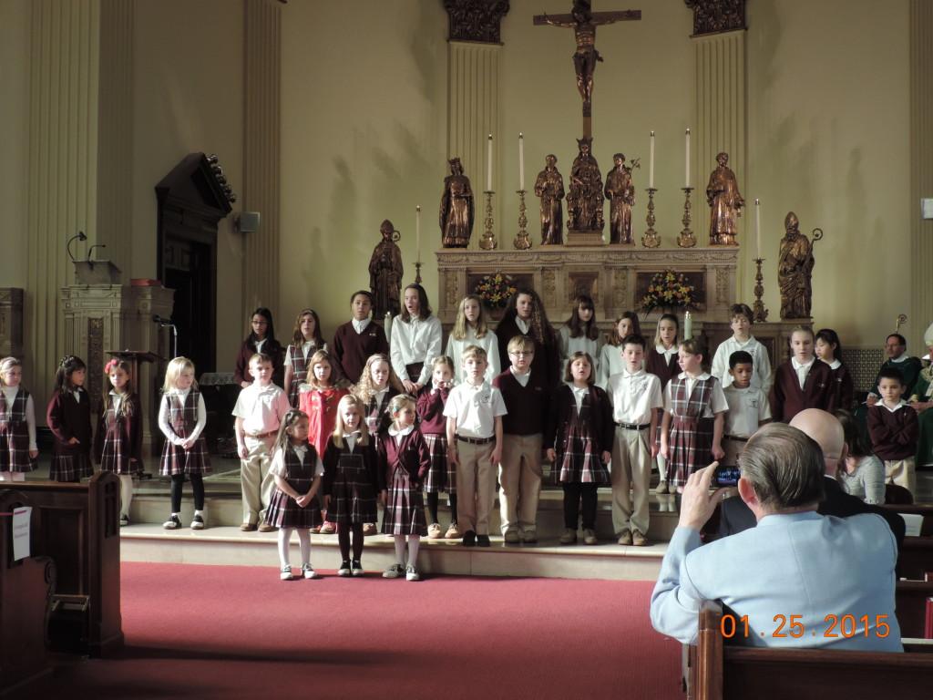Mass at St Casimers 1-25-15