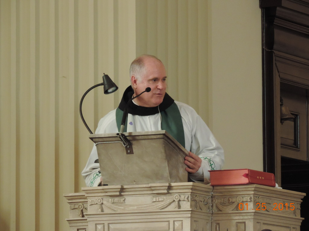 Mass at St Casimirs 1-25-15