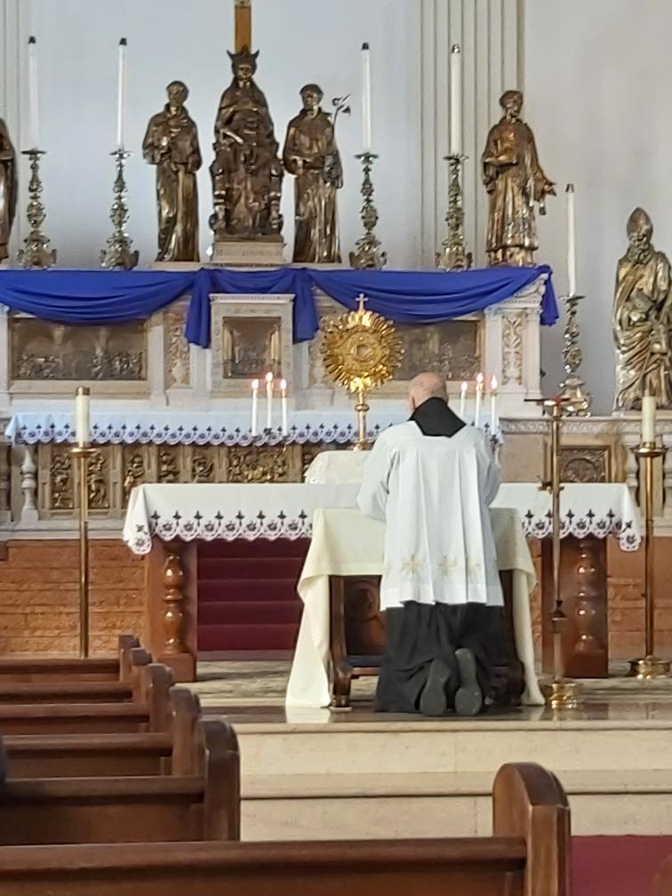 Adoration Fr. Dennis
